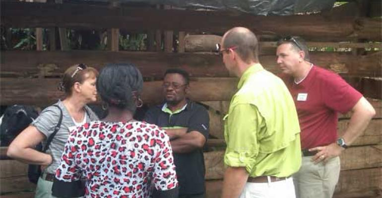 Cameroon Hunger Project Day 7: George and Gracie's Dairy Operation