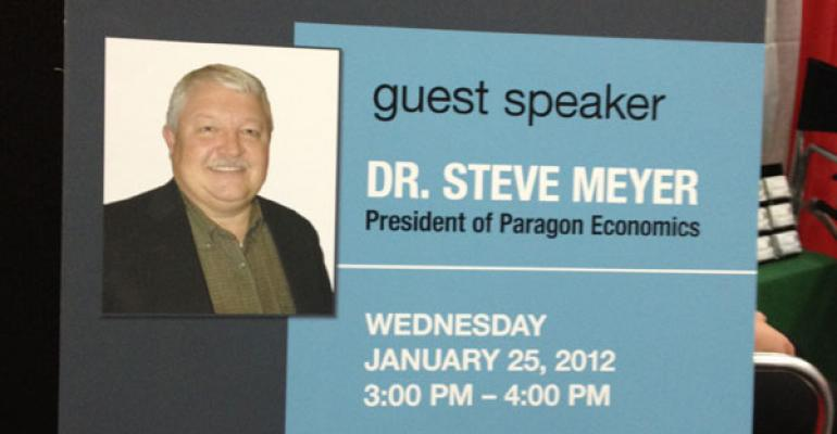 Steve Meyer Delivers Economic Outlook Seminar at Iowa Pork Congress