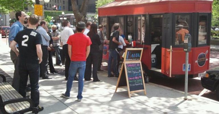 Bacon Trolley serves Satisfied St. Paul Customers