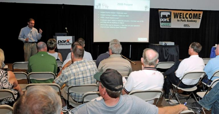World Pork Expo Seminars Focus on Business Management