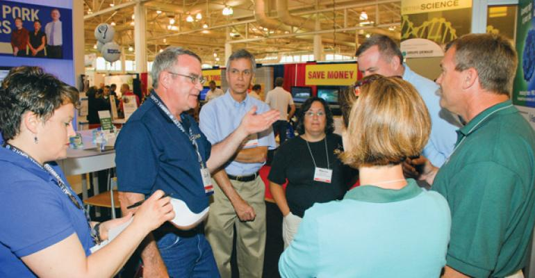 The World Pork Expo New Product Review Panel asks specific questions about how the Fostera PRRS vaccine works
