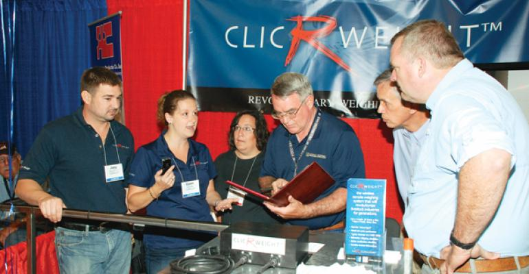 Dawn Keleske explains how the ClicRweight Weighing System helps gather accurate pig data