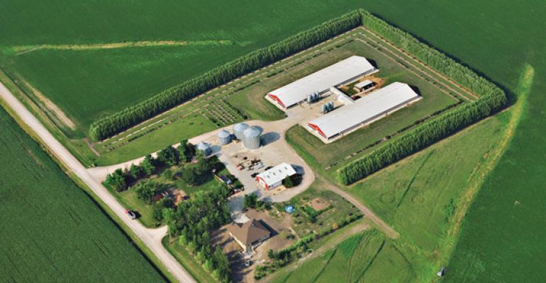 Reed Family Farms has earned a 2012 Pork Industry Environmental Stewards Award