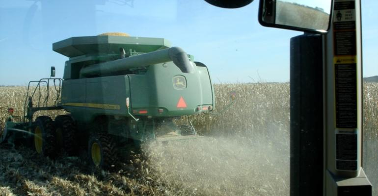 Harvesting Advances, Prices Dip