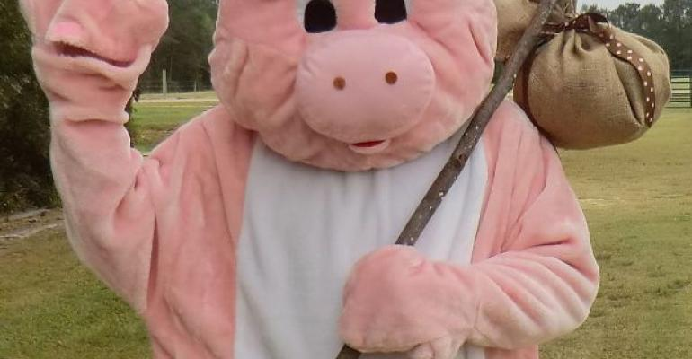 Mascot Promotes Pork Industry at North Carolina State Fair