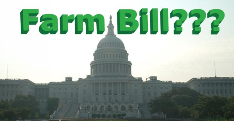 A farm bill may help avoid the fiscal cliff
