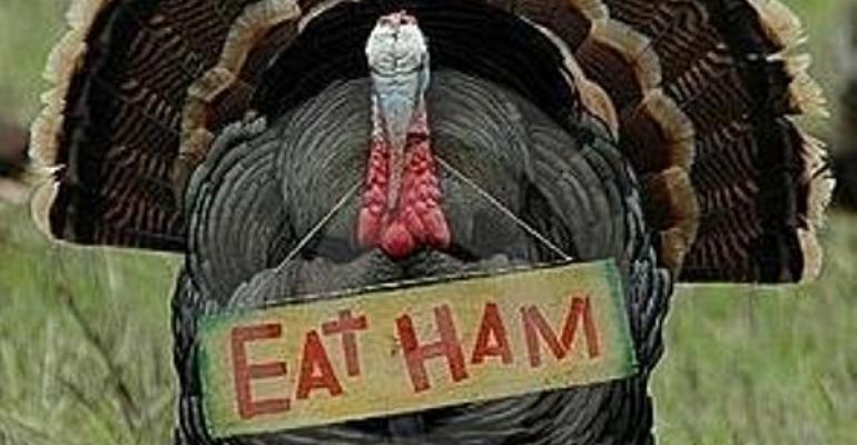 The White House served Ham for Thanksgiving