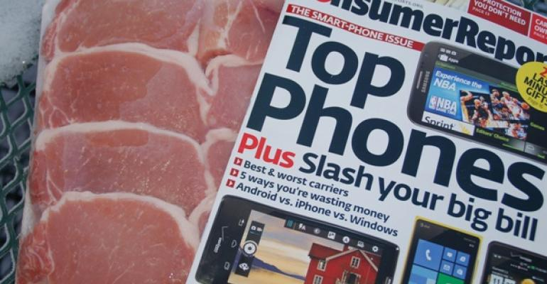 Consumers Union would like to see a more regulated pork industry