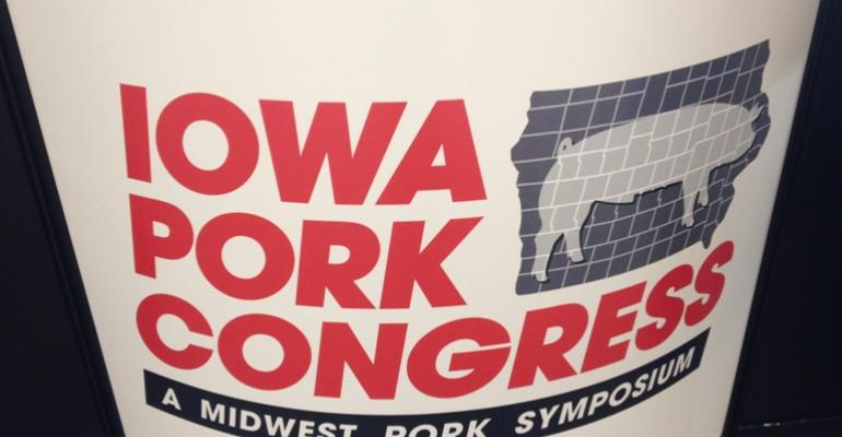 Iowa Pork Congress will be held Jan 23 and 24 2013