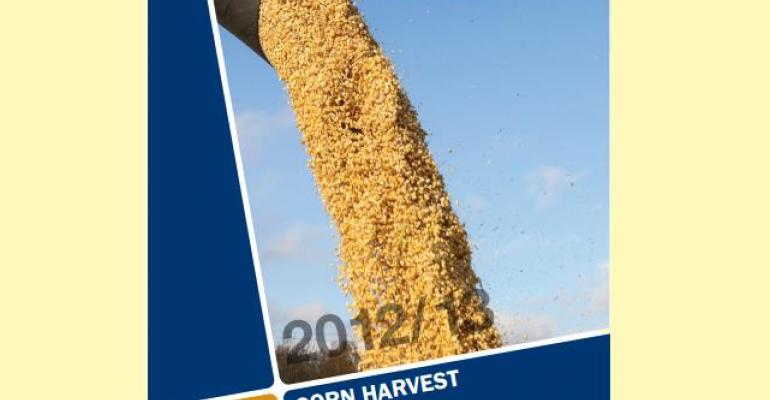 The 2012 corn crop showed good quality in spite of the drought