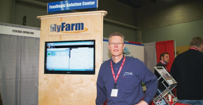ldquoThe MyFarm concept means no more databases on a deskrdquo says Drew Ryder Feedlogic president