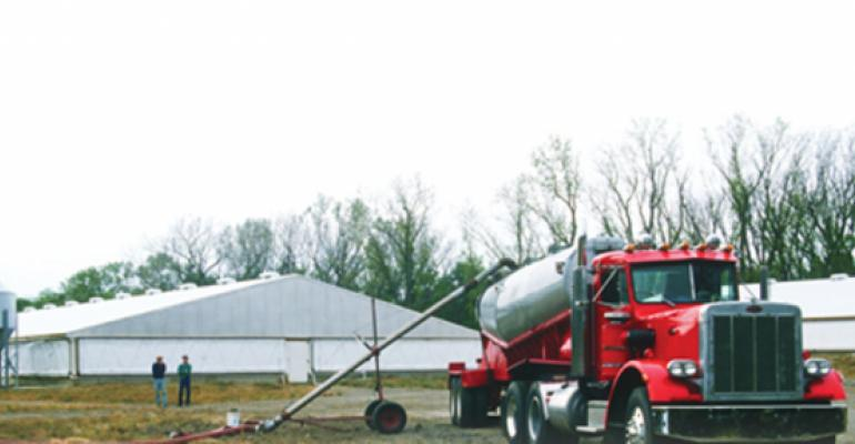 Don't Let PRRS Hitch a Ride with Your Manure Hauler