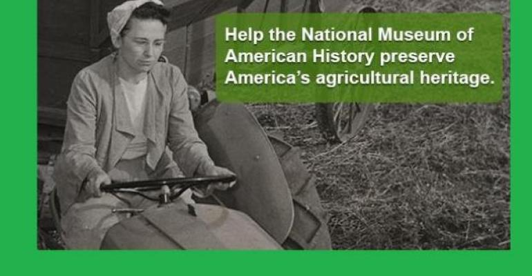 Smithsonian Museum of American History Announces Initiative to Preserve Agricultural Heritage