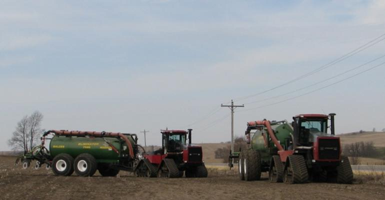 Nutrient management plans call for calibration records