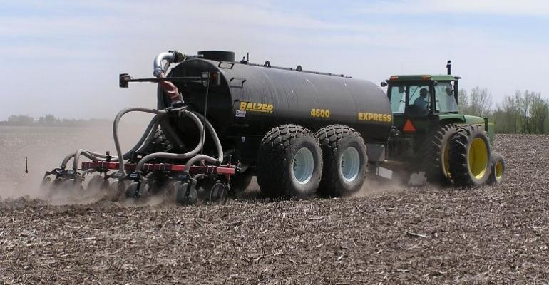 Use Caution Spreading Manure with Rapid Snow Melt
