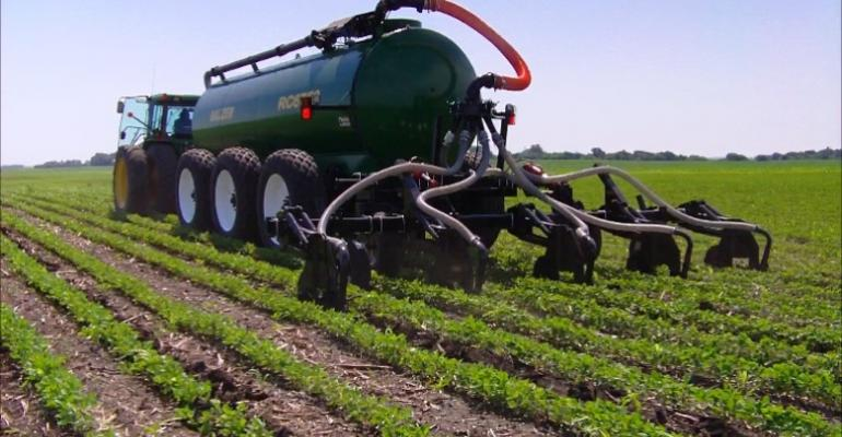 Wet weather has caused headaches when it comes to manure use this spring