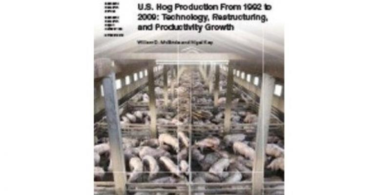 USDA Report: Fewer, Larger Hog Farms
