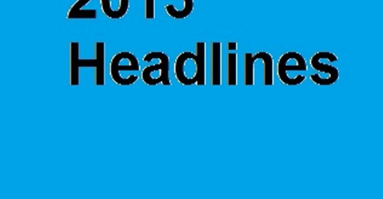 Looking Back at 2013 Through Headlines: The Year in Review