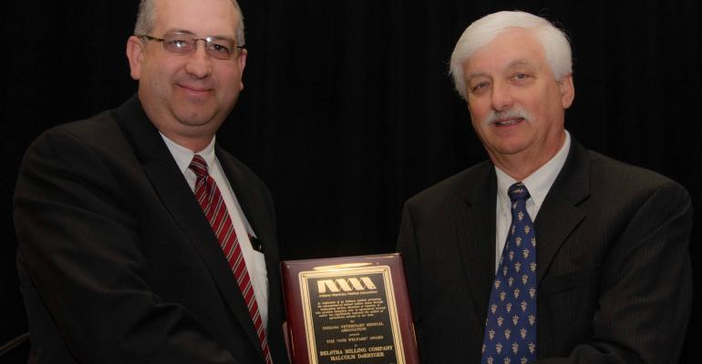"Belstra Milling Company Honored with IVMA ""One Welfare"" Award"