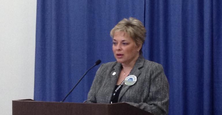 Karen Richter serves as the President of the National Pork Board