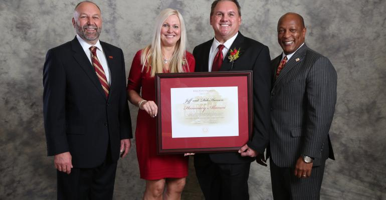 Owners of Iowa Select Farms Named Iowa State University Honorary Alumni