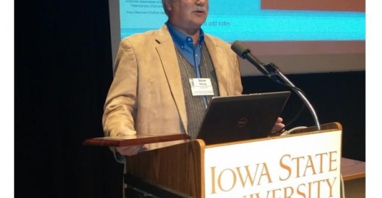 Steve Henry Named 2014 ISU Science with Practice Award Winner