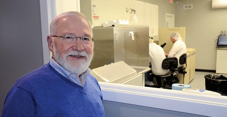 Hank Harris turned to new technology to create Harrisvaccines and along the way he is developing a rapidresponse tool for animal disease outbreaks