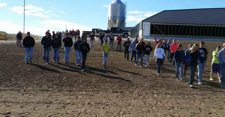 More than 500 people toured the new Reicks View Farms Busch Finisher Barn during a public open house on Oct 9
