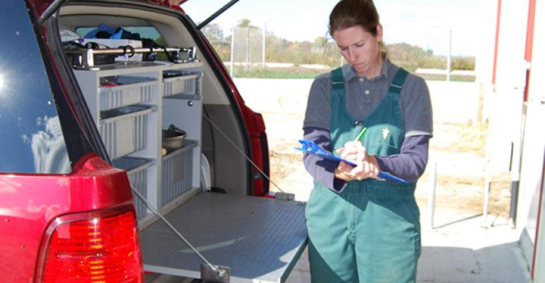 Swine Health Monitoring Project serving as swine disease surveillance system