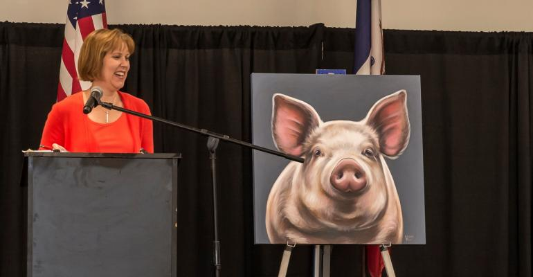 During the World Pork Expo US Trade Representative Ambassador Darci Vetter reminded pork producers that economic allies are also our political allies
