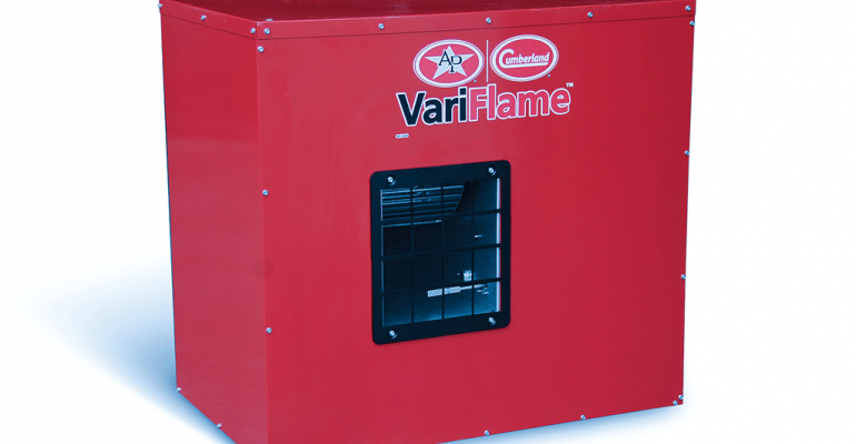 The VariFlame heater is engineered for longevity performance and ease of maintenance
