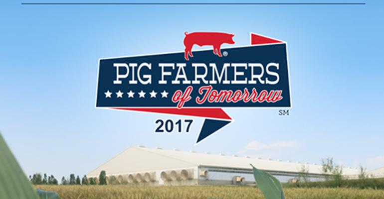 U.S. pork industry seeks the Pig Farmers of Tomorrow
