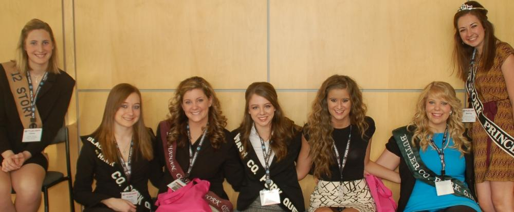 2013 Iowa Pork Queen Candidates