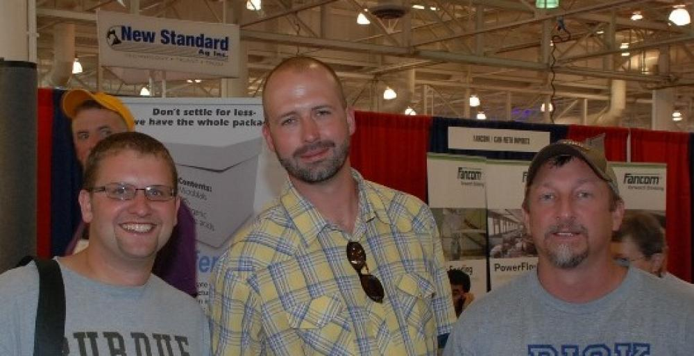 The Dykhuis Farms Crew Visits World Pork Expo