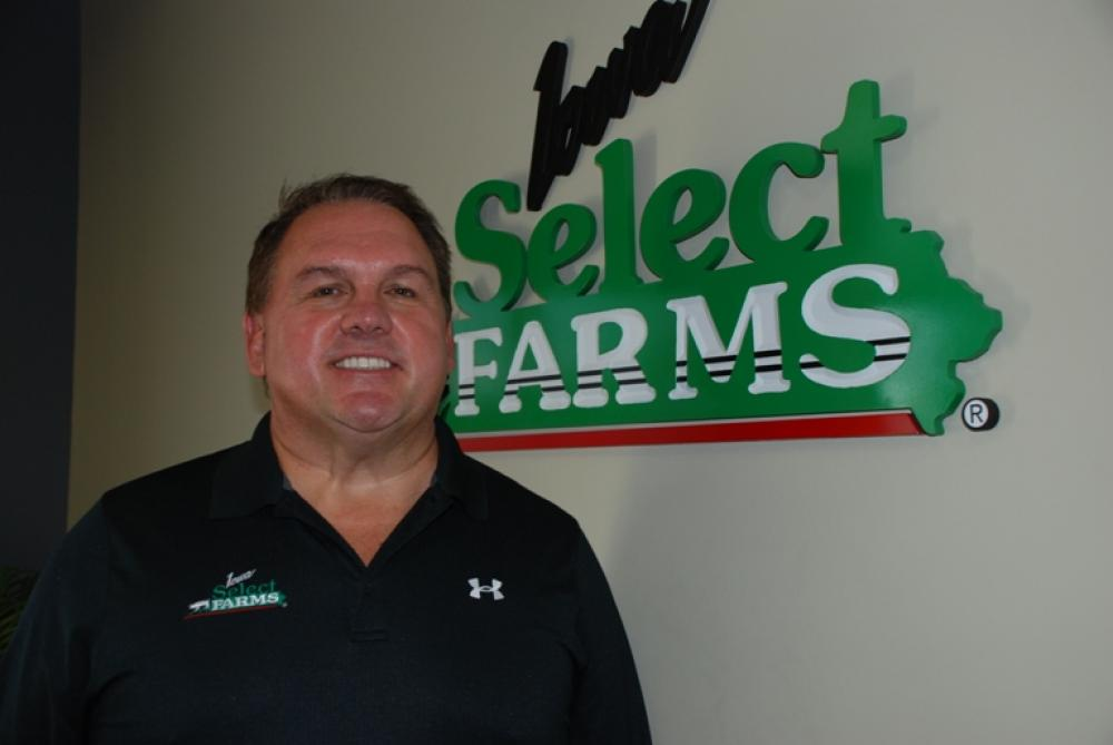 Jeff Hansen founder and CEO of Iowa Select Farms