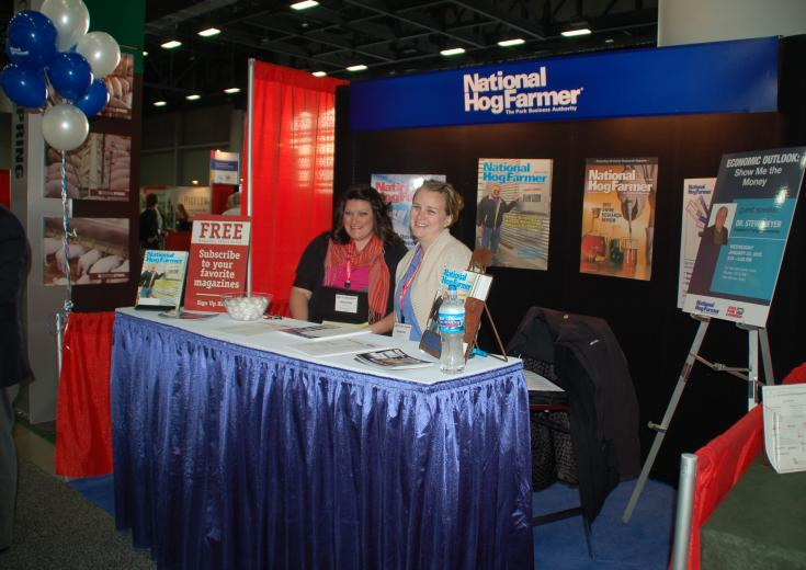 Visit the National Hog Farmer booth!