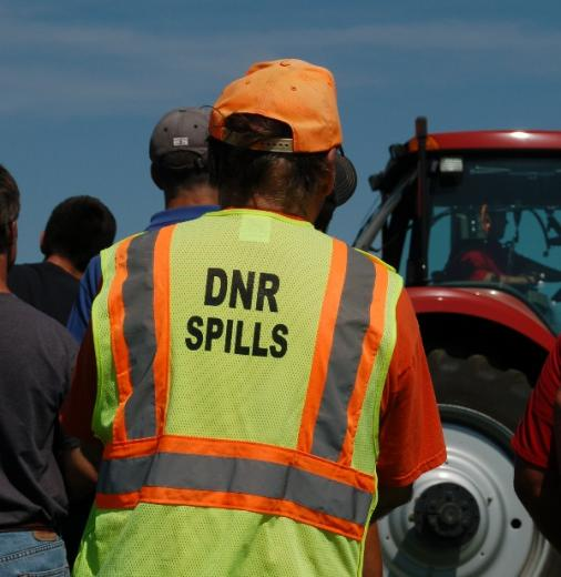 Notify the DNR As Soon As Possible After a Spill