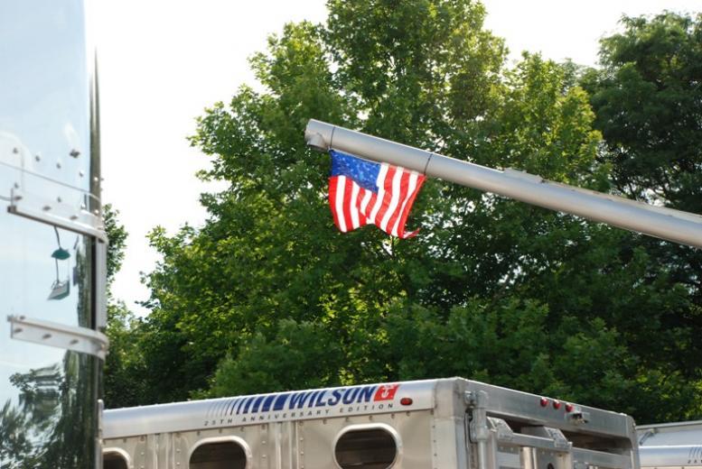 The Flag is Raised.