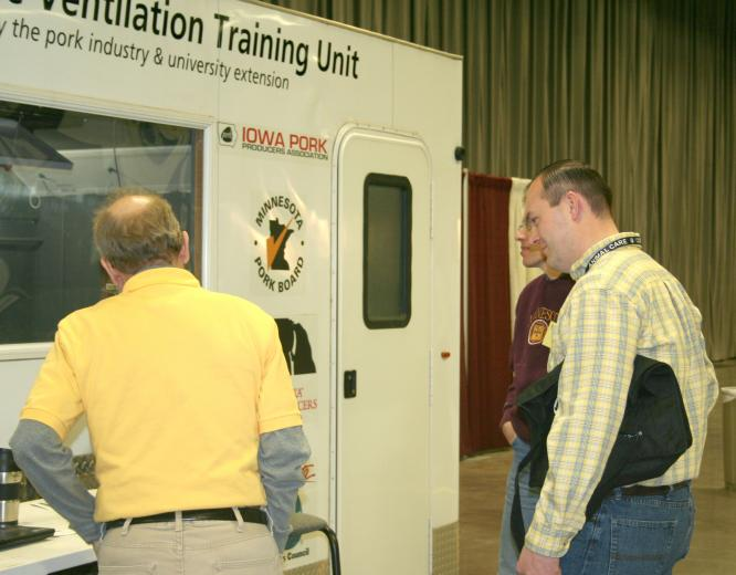 Mobile Ventilation Demonstration Trailer