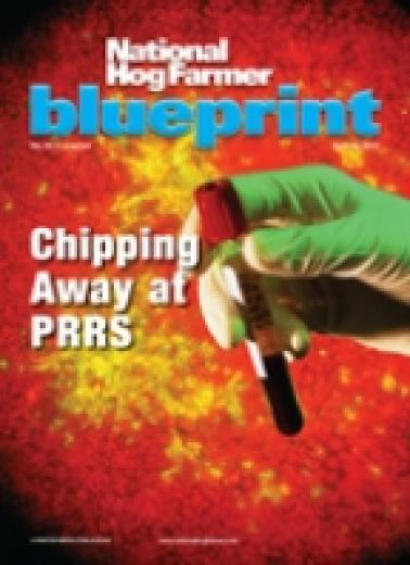 The April 2012 issue of National Hog Farmer focuses on Chipping Away at PRRS.