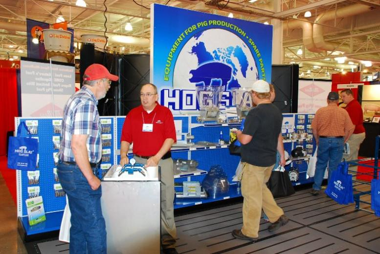 Checking out the Trade Show