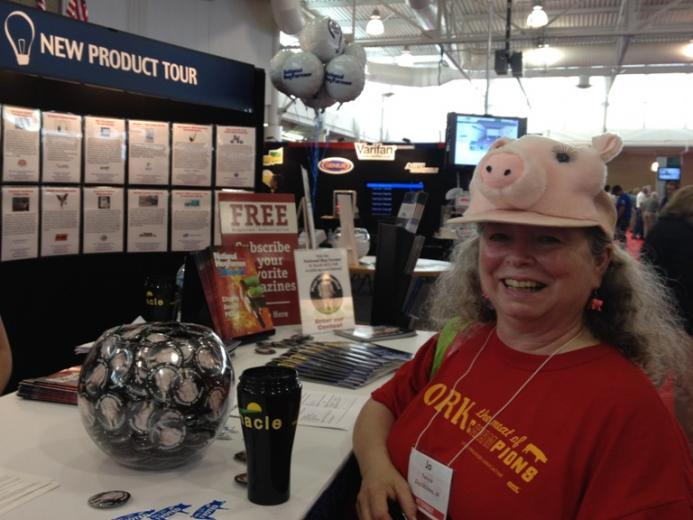 Pork Industry Enthusiasm was Displayed During 2012 World Pork Expo