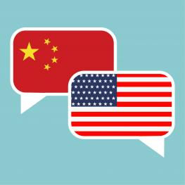 America China tariff business global exchange international. USA versus China.