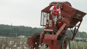 This Week in Agribusiness - Antique International Harvester Cotton Picker