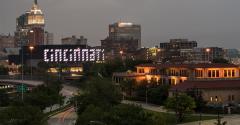 Cincinnati, OH, on May 9, 2017.