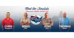 Composite of finalists for America's Pig Farmer of the Year