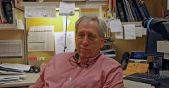 Kent Schwartz has been at the Iowa State University Veterinary Diagnostics Laboratory since 1987, and he still gives personal attention to each of the 1,500 to 3,000 cases that cross his desk each year.