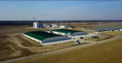 The Maschhoffs recently built a state-of-the-art 2,500-head sow farm in southern Illinois — Bear Grove, a genetic nucleus farm.