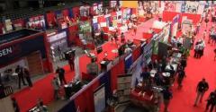Trade show floor of World Pork Expo 2018