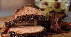 Fennel Chili Pork Rib Roast